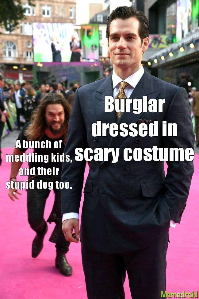 Scooby Doo in a nutshell - meme