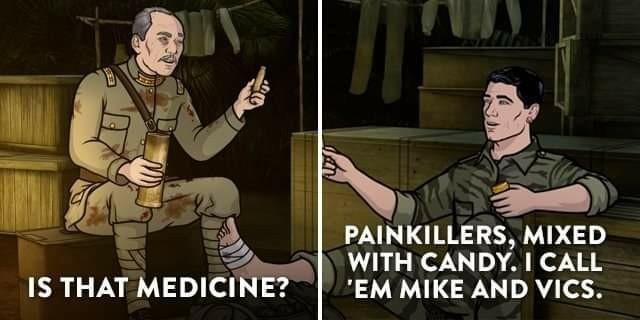 Mike and Vics - meme