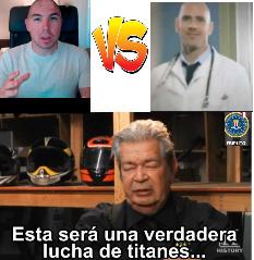 quien ganaria? - meme