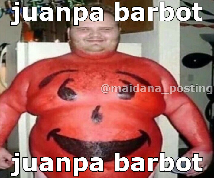 juanpa barbot - meme