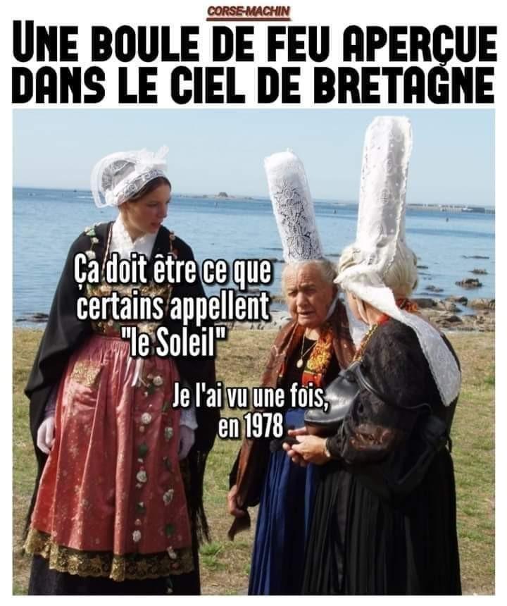 Encore une légende bretonne - meme