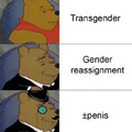 """-penis if they """"are"""" a woman"""
