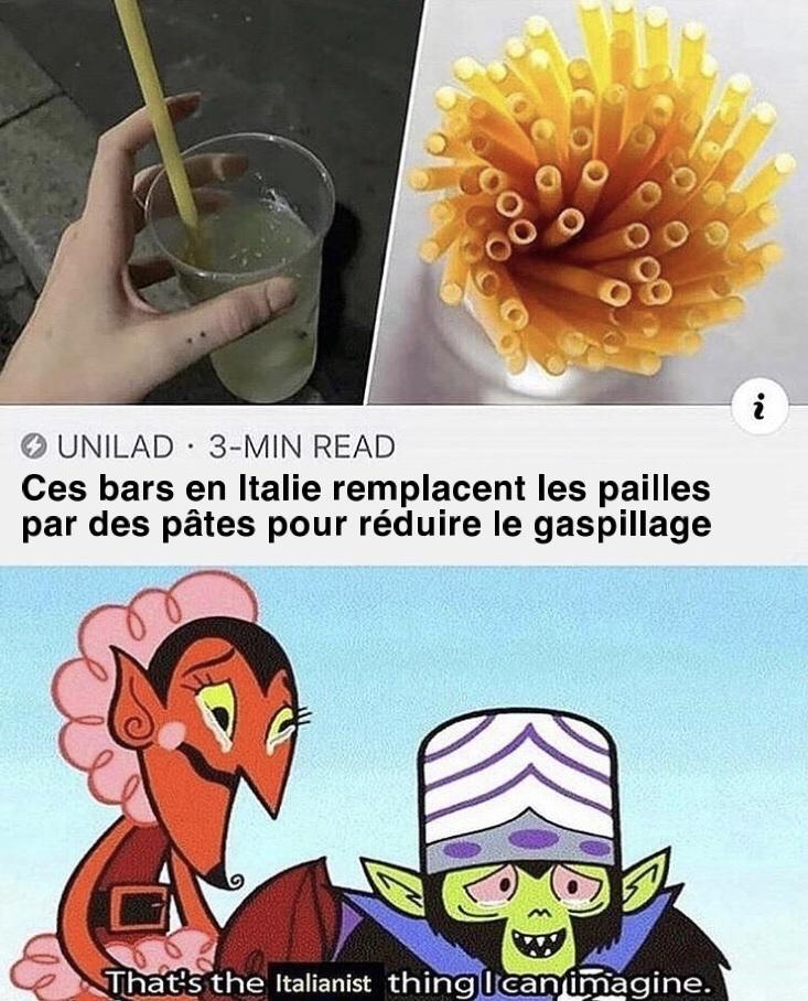 l'italie a son paroxysme - meme