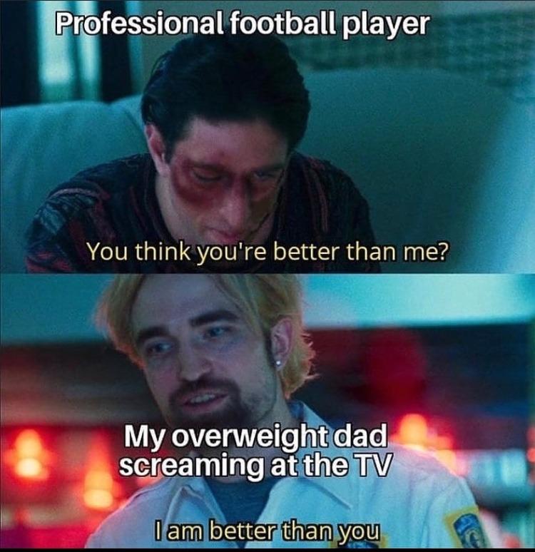 I am better than you - meme