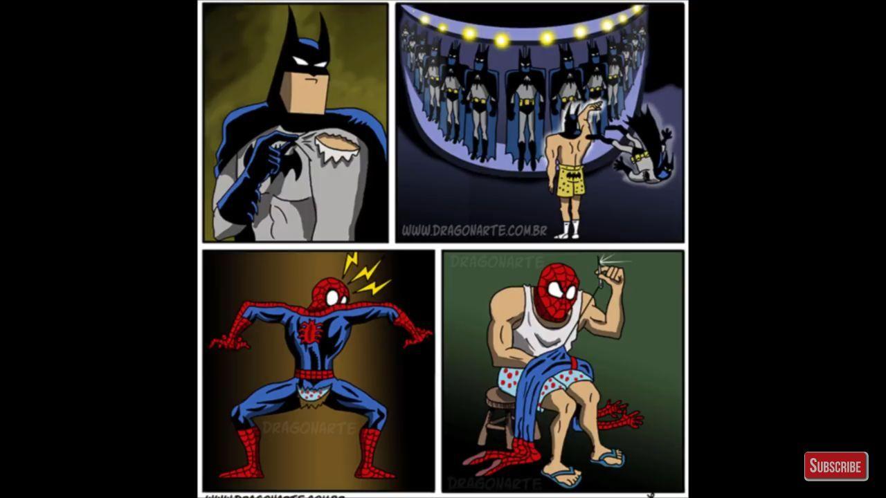 Batman burguês safado - meme