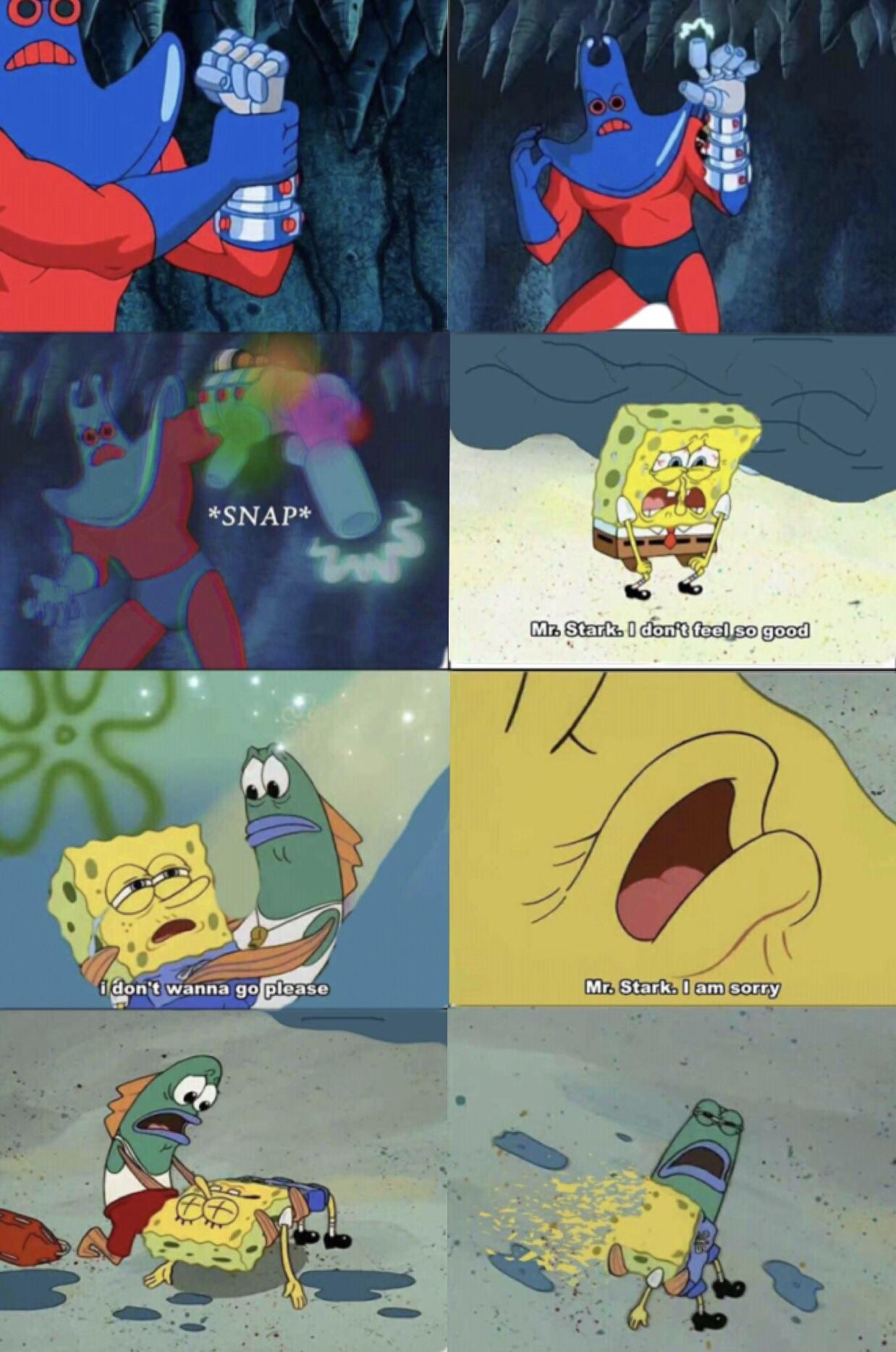 Man Avengers infinity  war was the best - meme