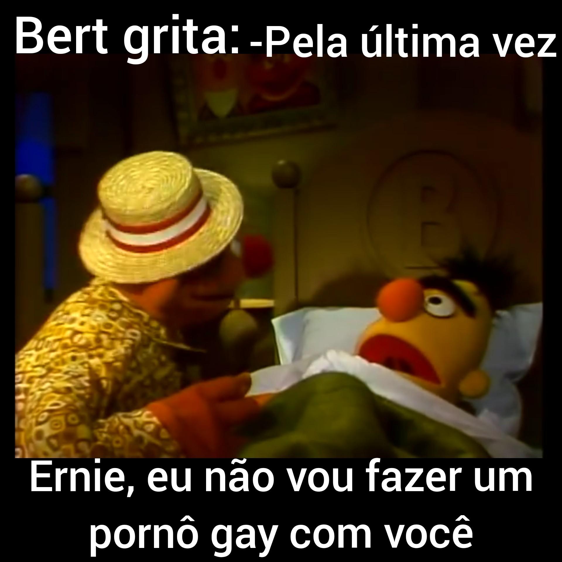Não, sei Ernie! - meme