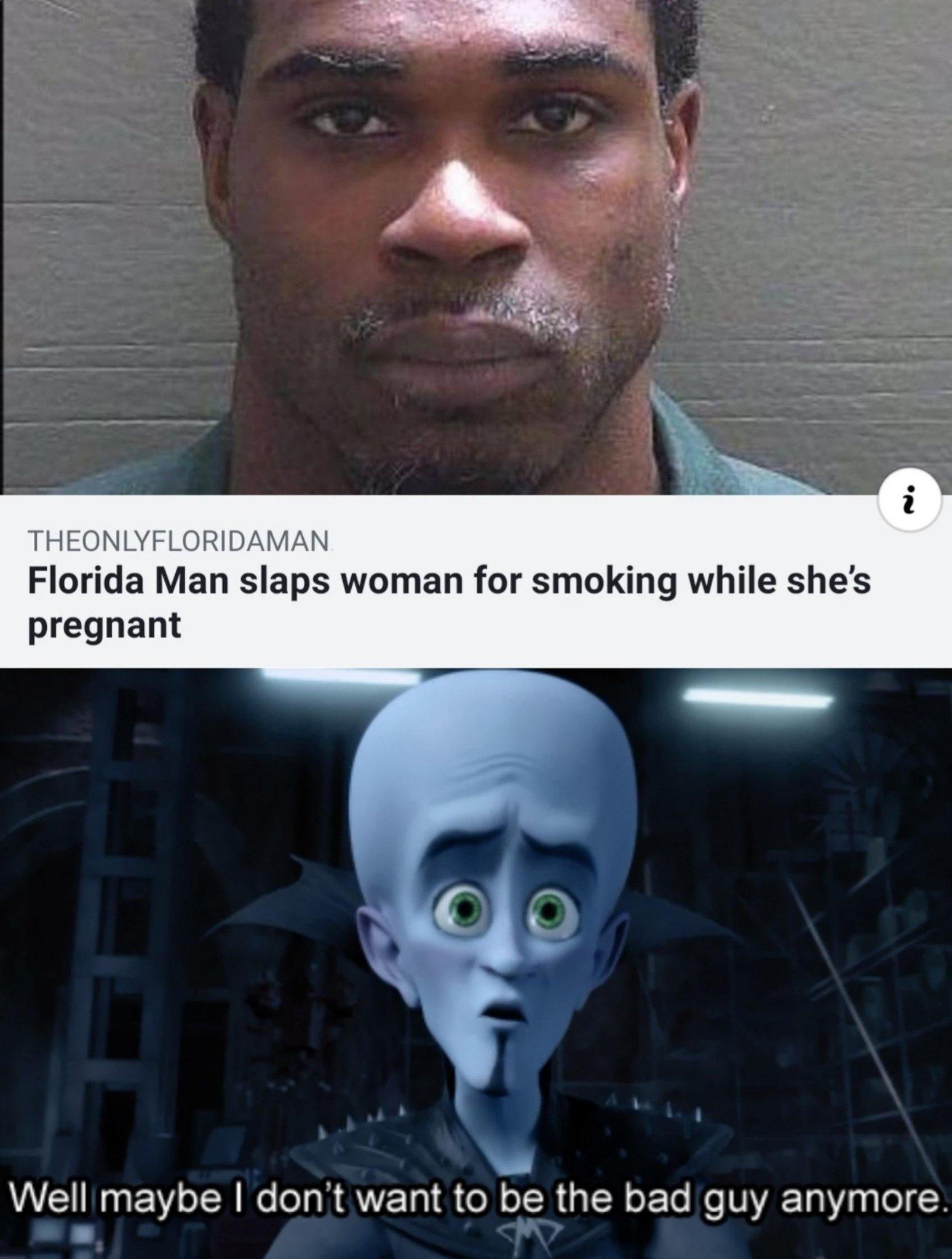 Noble Florida man - meme