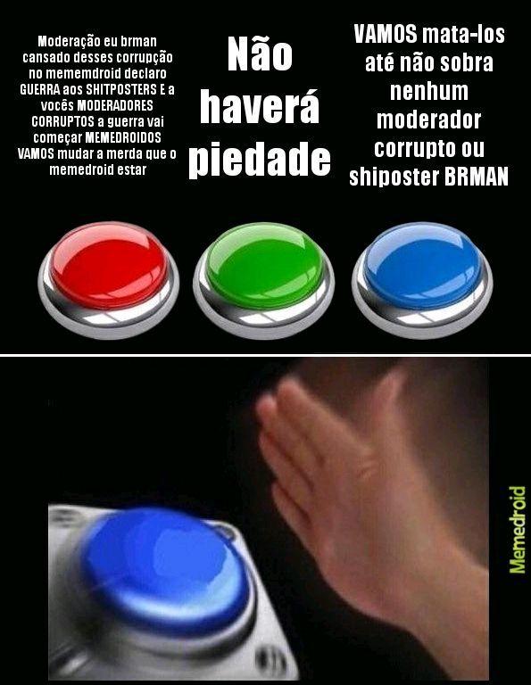 A GUERRA COMEÇOU DESGRAÇADOS - meme