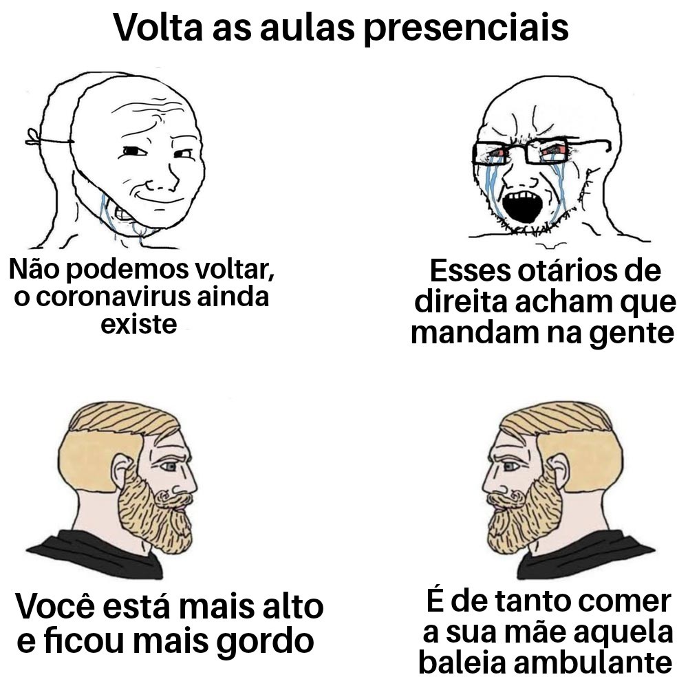 Soyjak = Gay - meme