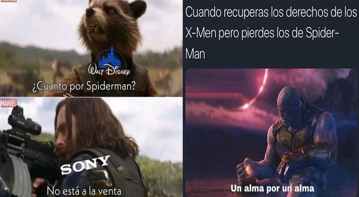 sony spiderman - meme