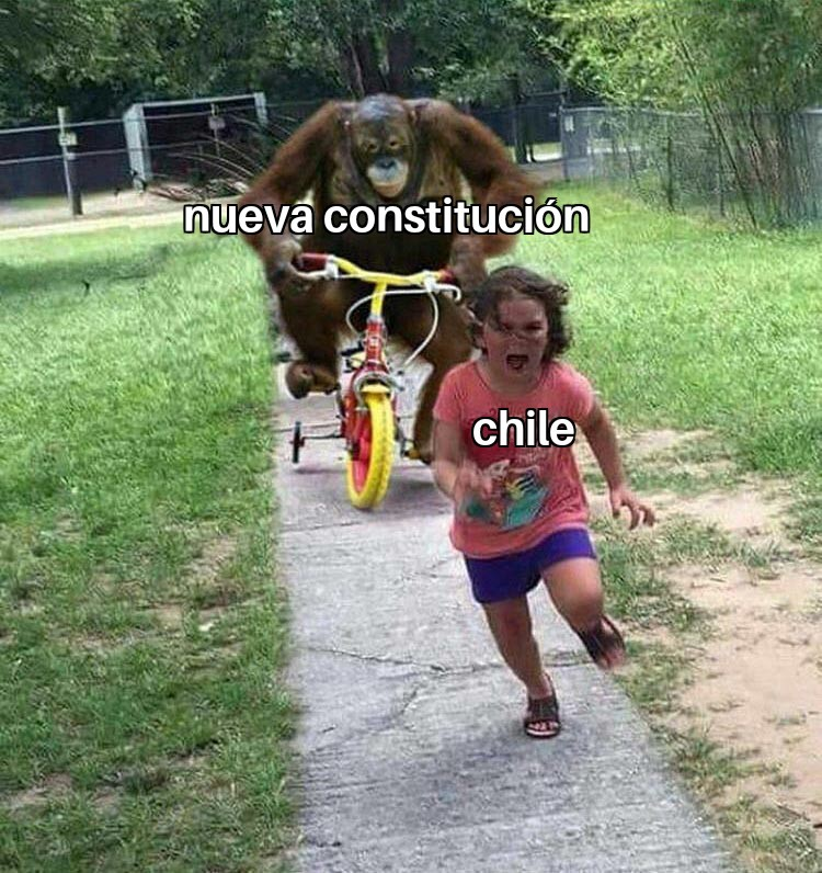 Chile se va a transformar en Venezuela pd: capitan lento - meme