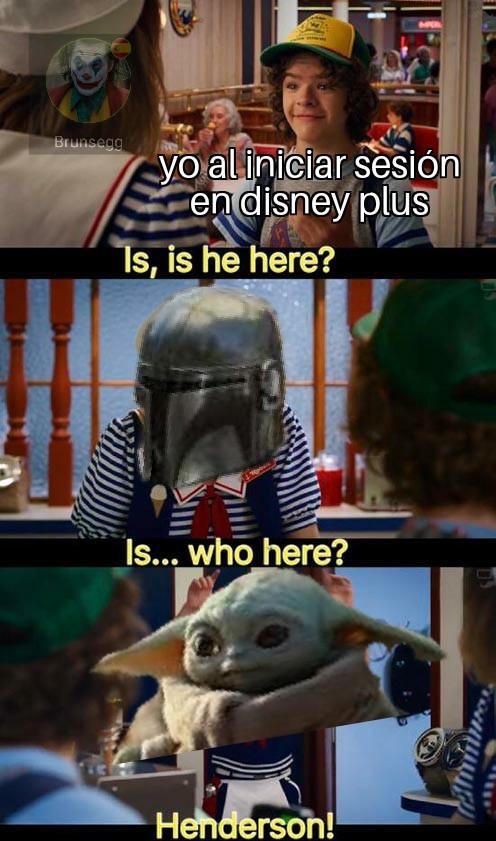 No puedes salvar toda la franquicia solo con un personaje Disney: observe.jpg - meme