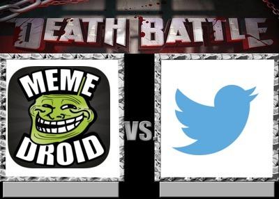 GORDOSDROID VS TWITER LLORONES quien gana??? - meme