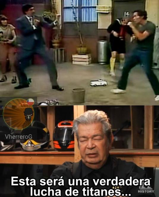 La mejor pelea del universo - meme