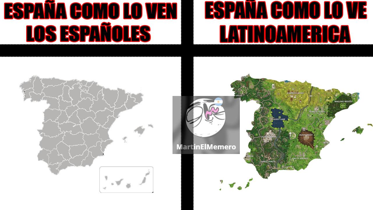 Viva Fortnite digo... España - meme