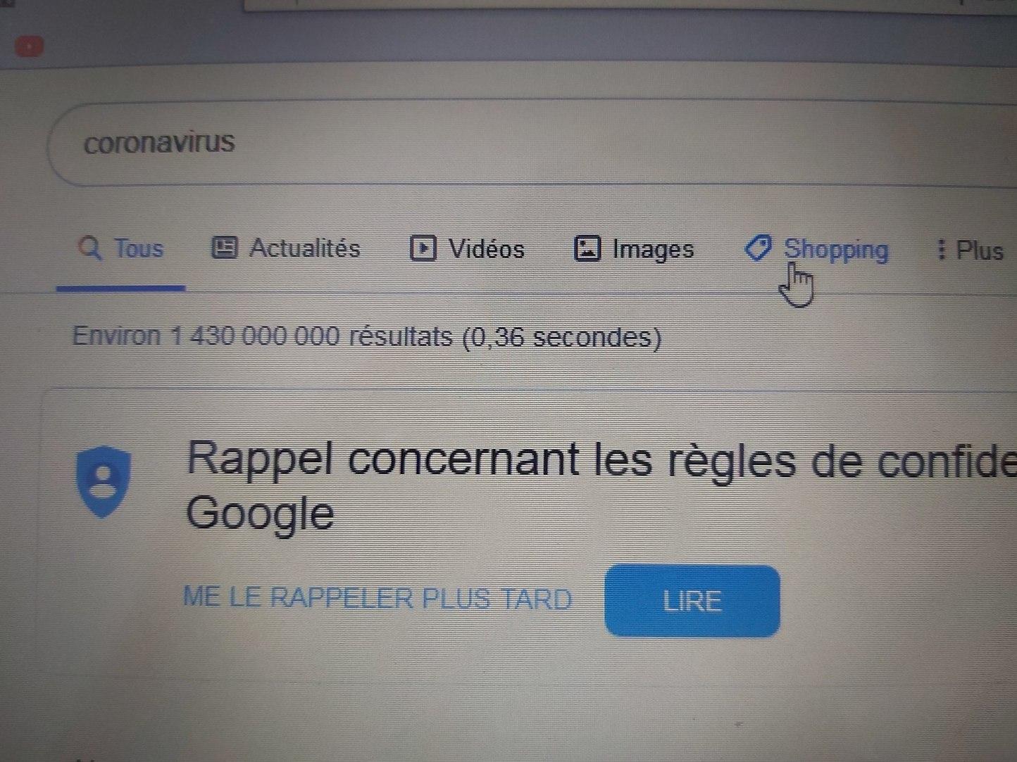 Ah Google ! - meme