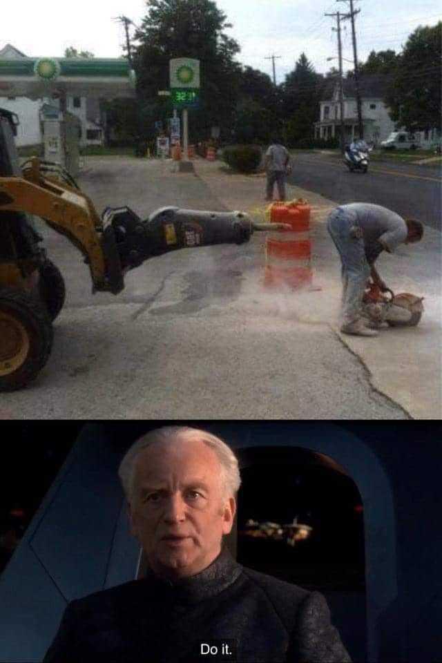 Go to the Dark Side ! - meme
