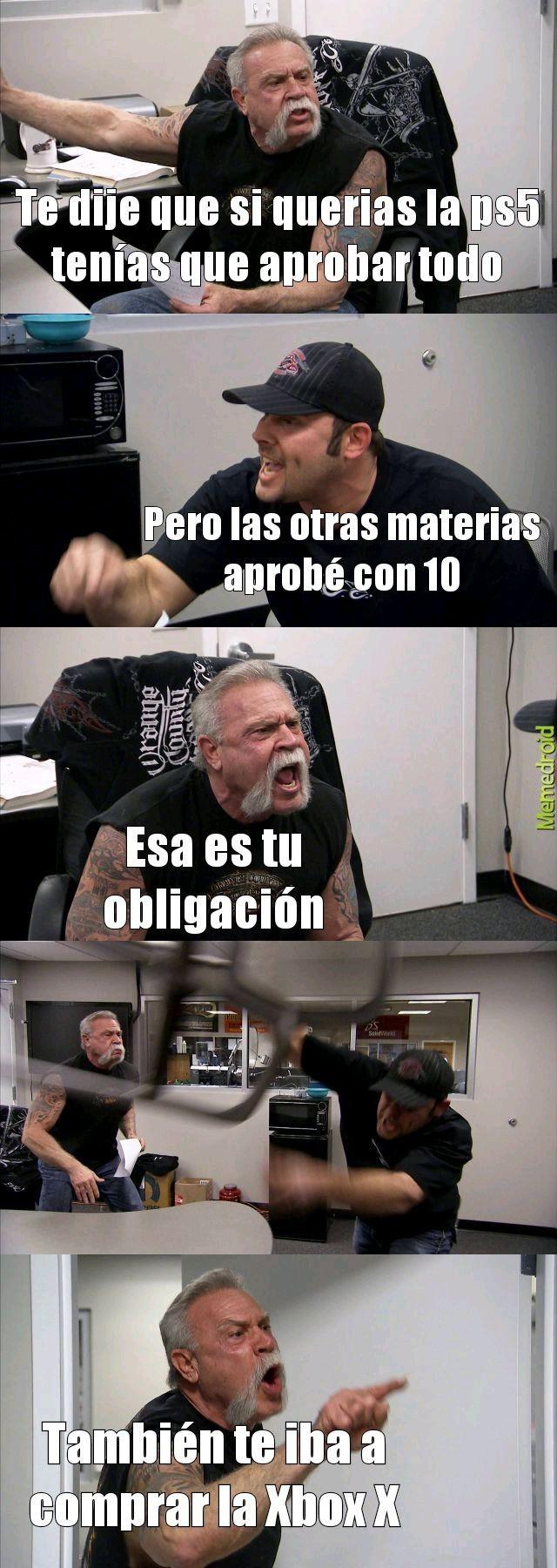 Esa es tu obligación - meme