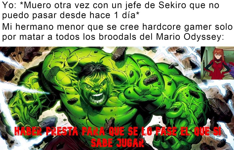 DALE HERMANITO NO VES QUE YO SOY EL MÁS PRO - meme