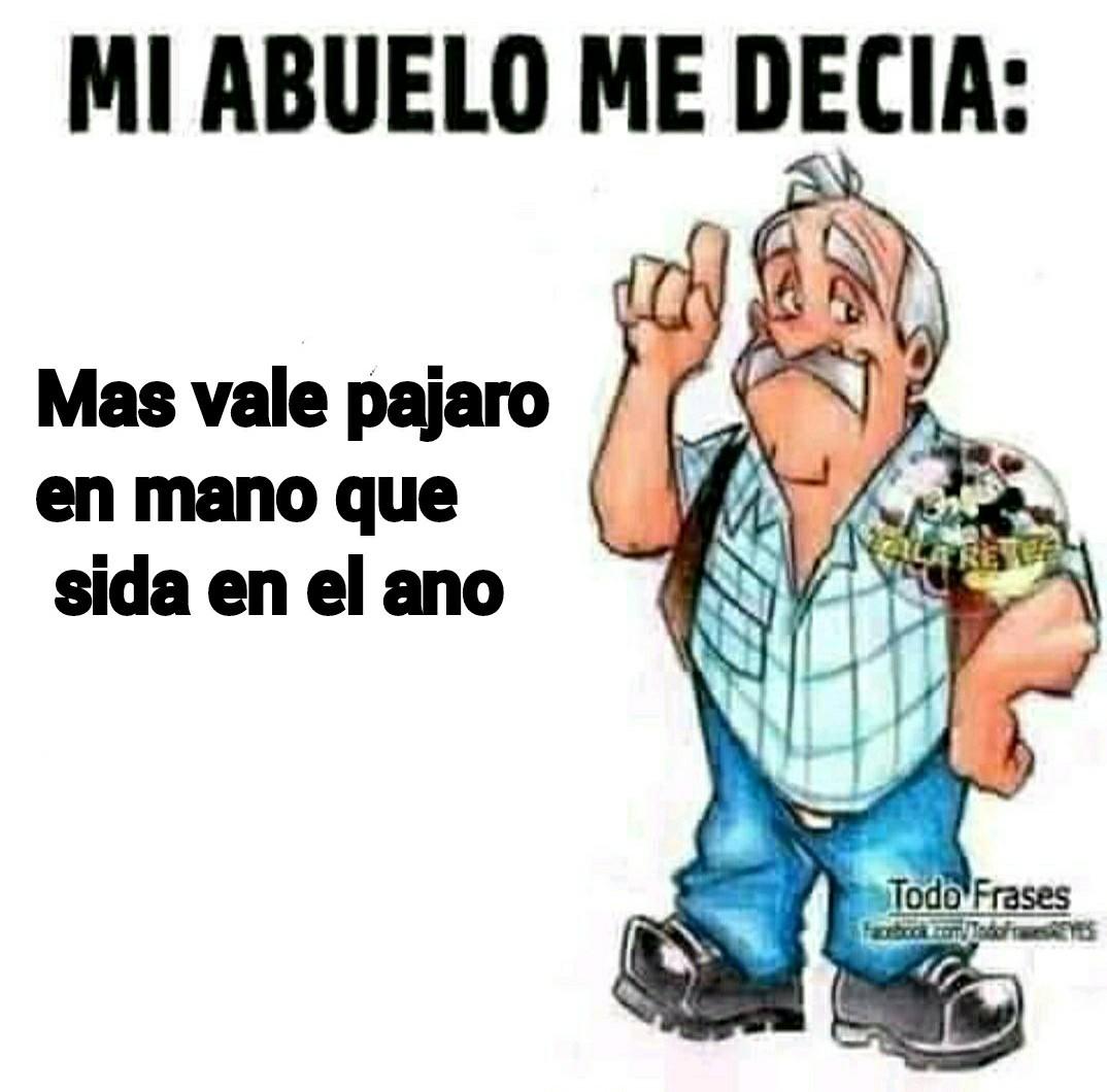 Gracias abuelo :') - meme