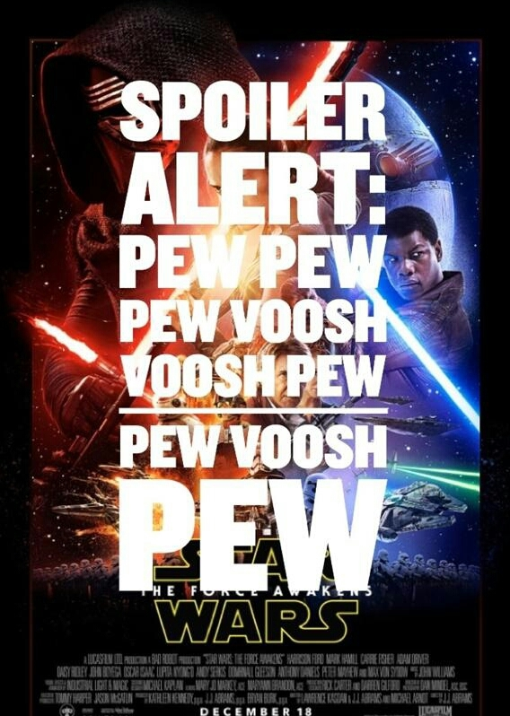Star Wars Spoiler - meme