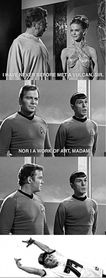 Spock got game - meme