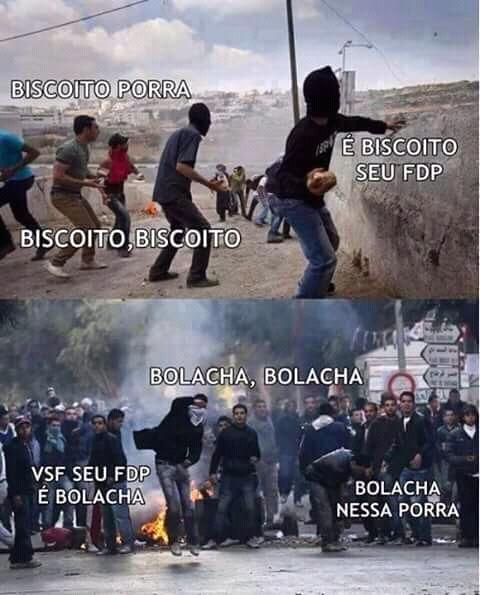 Brasileiro e foda... - meme