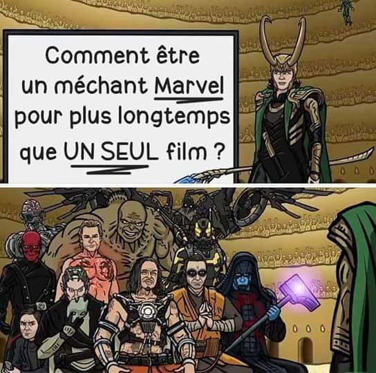 Loki méchant mais pas trop - meme
