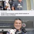 Orgulho de quem salvou um doggo