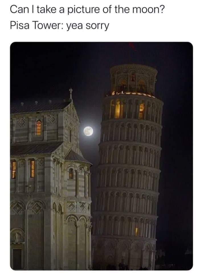 La tour à pizza - meme