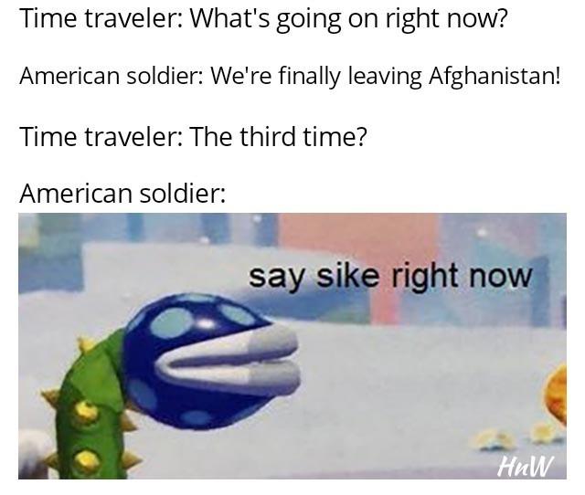 Here we go again - meme