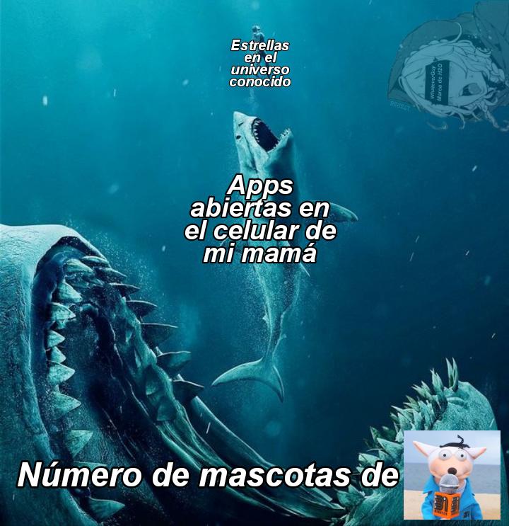 Le dedico este meme a Copi-Copi, Elemento, Adjetivo, Mente en Blanco, Chaucha, Yo no fui, Etcétera...