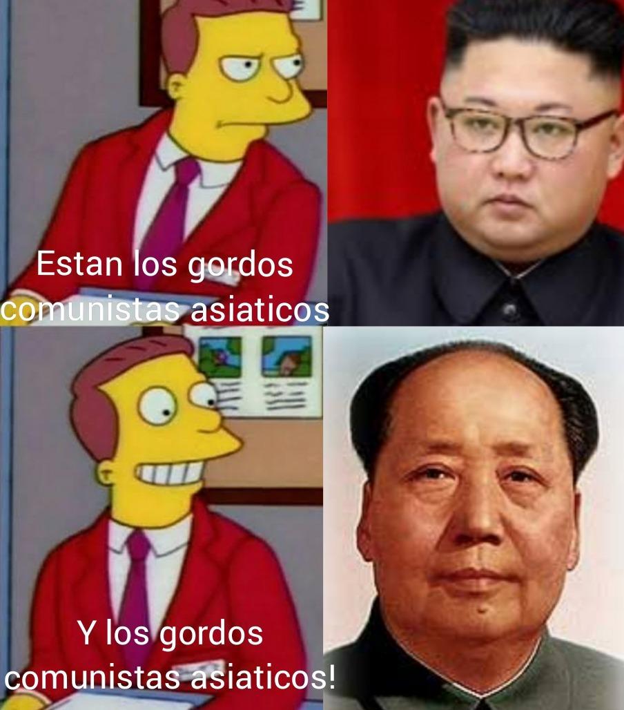 Mao Zedong :chad: Kim Jong Un :zoomer: - meme