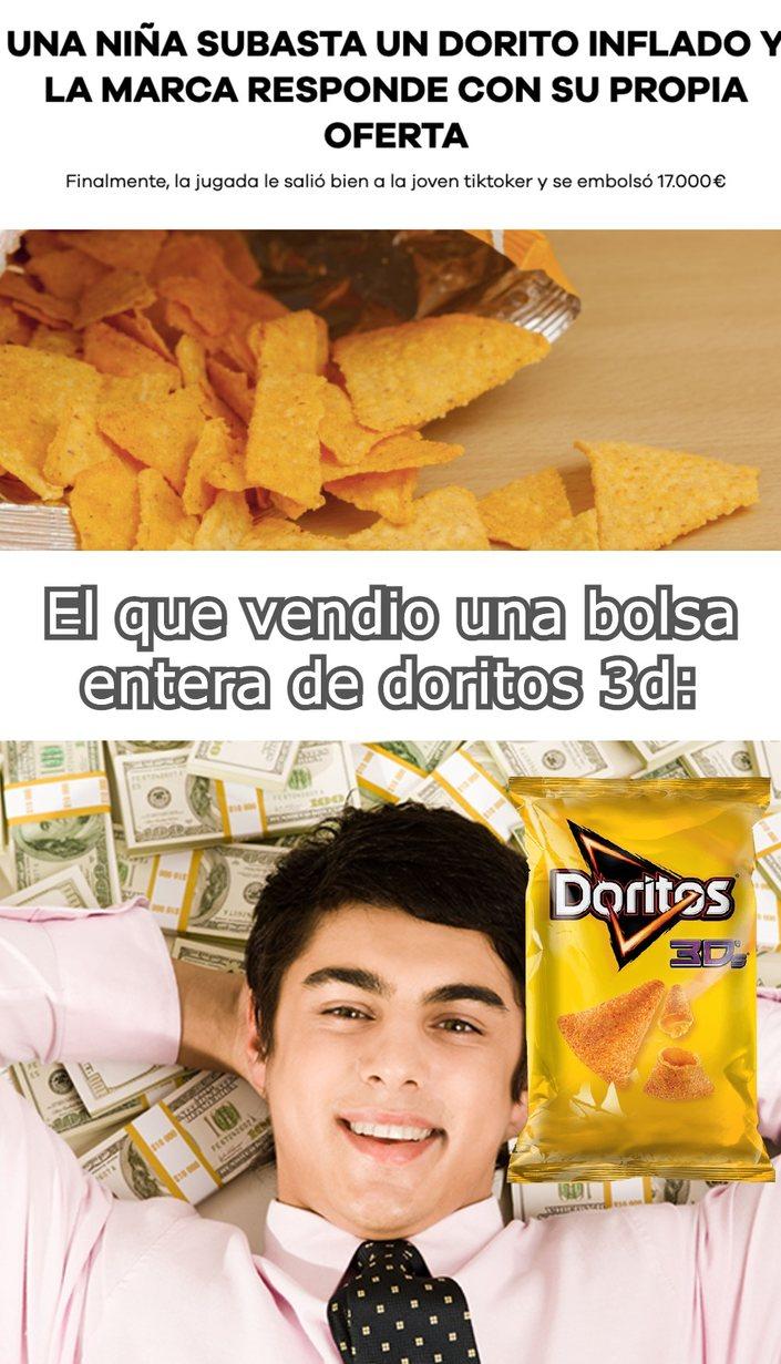 doritos inflados - meme