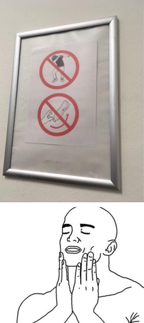 Lugar perfeito - meme