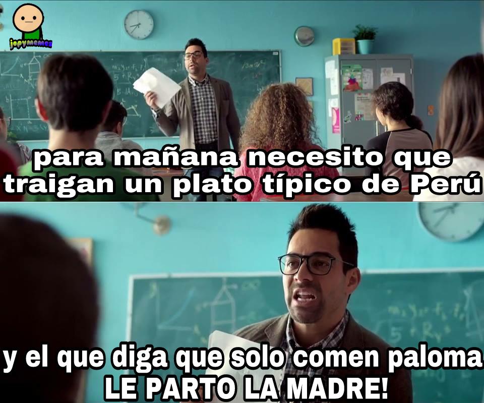 NO COMEMOS PALOMA! - meme
