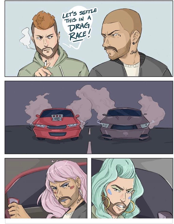 Drag Race? - meme
