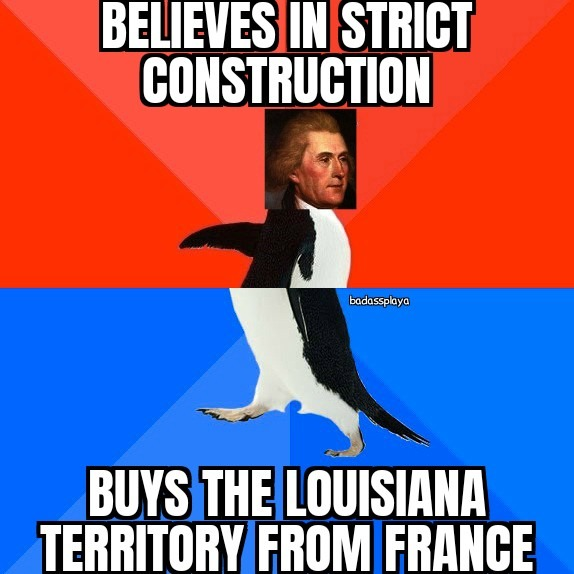 WHAT ARE YOU, JEFFERSON?! - meme