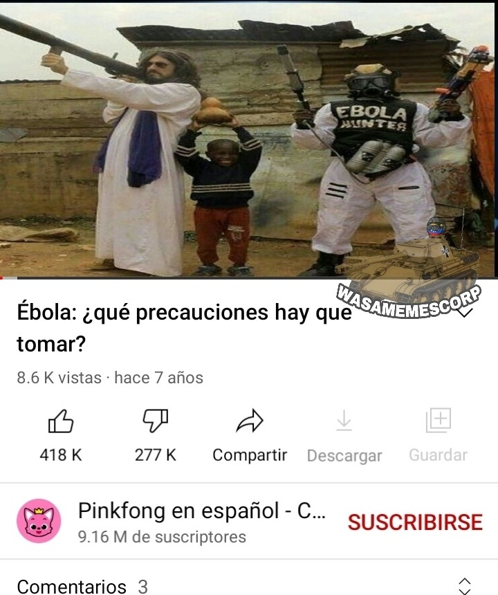 Ebola :Virgin: Cristo :Chad: - meme