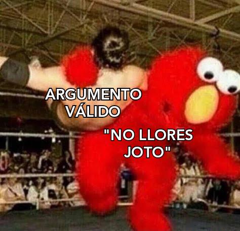 NO LLORES JOTO :chad: - meme