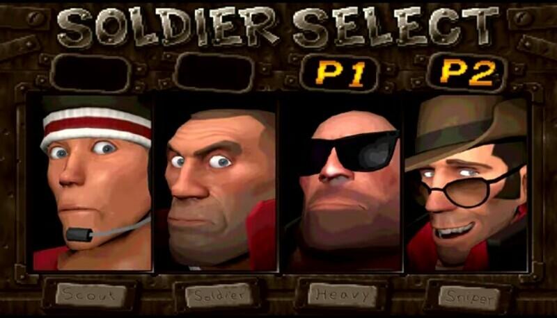 Soldier select - meme