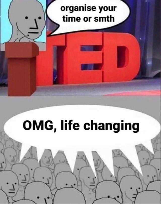TED Talk - meme