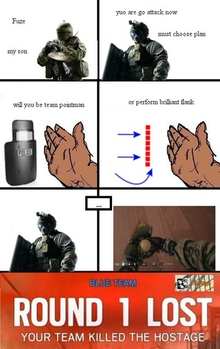 fuze wins games - meme