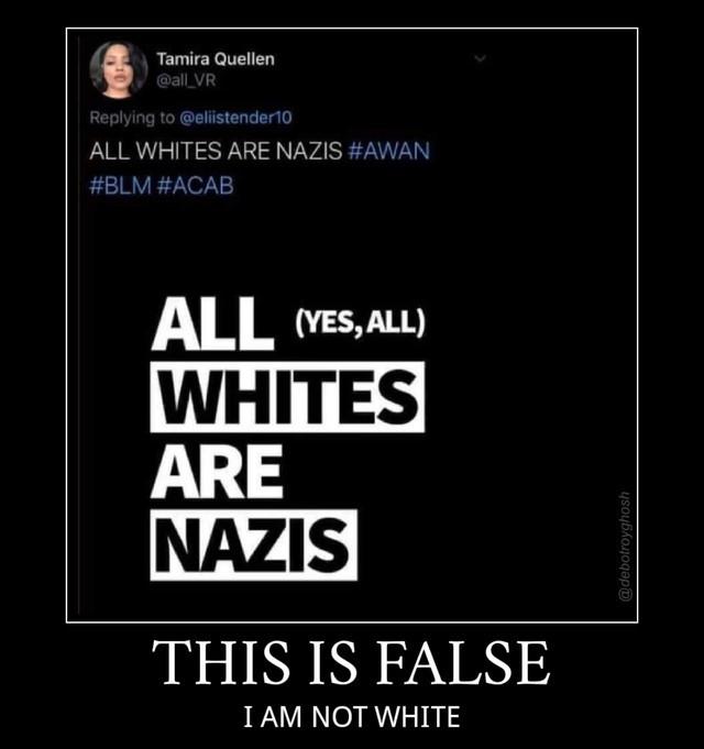 Preto Nazista Kkkkkkkj - meme