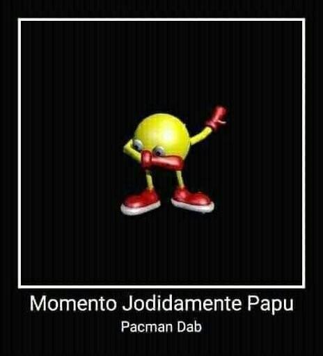 Pacman dab - meme