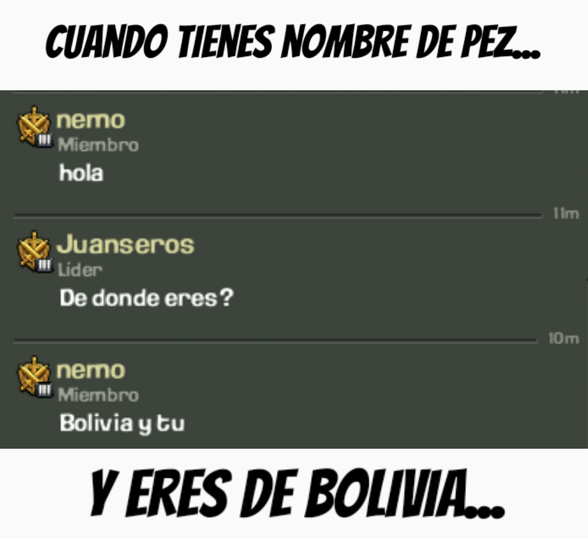 Hola Nemo! :v - meme