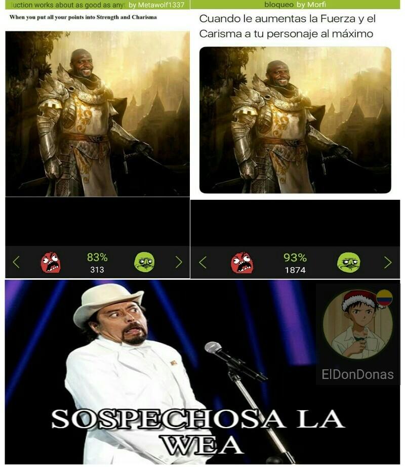 La weá - meme