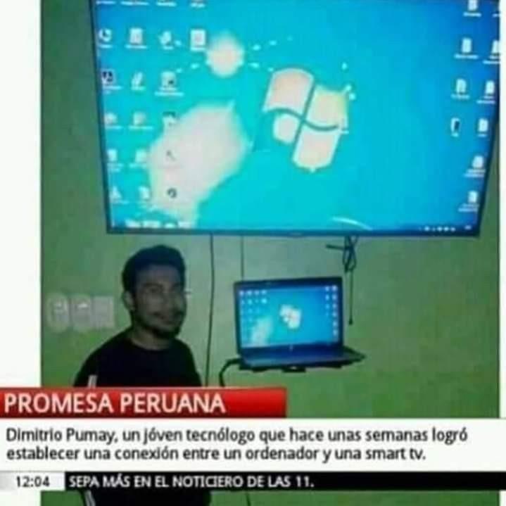 Grande peruanos - meme