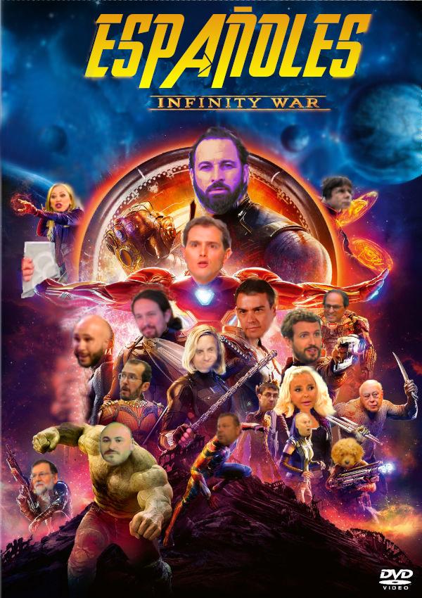 España Infinity war - meme